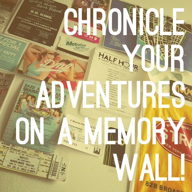 Chronicle Your Adventures on a Memory Wall! | Memory wall, Walls and ...