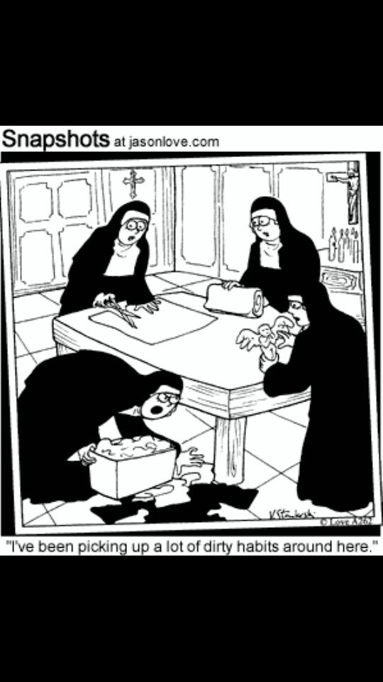 Nuns humor | Catholic humor, Catholic memes, Christian humor
