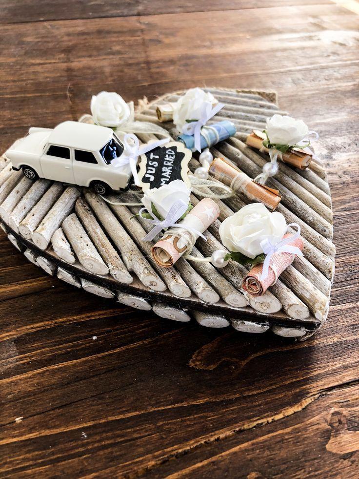 Geld – Hochzeitsgeschenk ideen