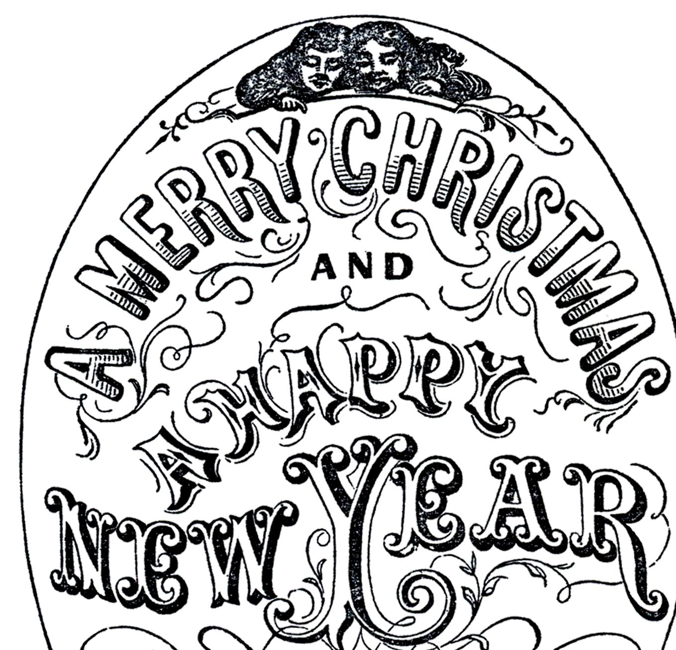 Old-Time-Christmas-Typography-thm-GraphicsFairy.jpg (1359×1306)