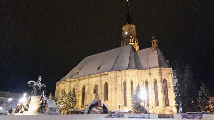 Chiesa di San Michele in Plata Unirii a Cluj Napoca | Transilvania, Romania