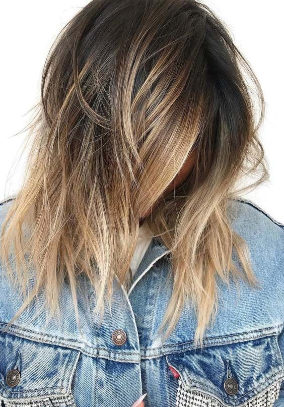 46 Pretty Little Ombre Colors For Short To Medium Haircuts 2018