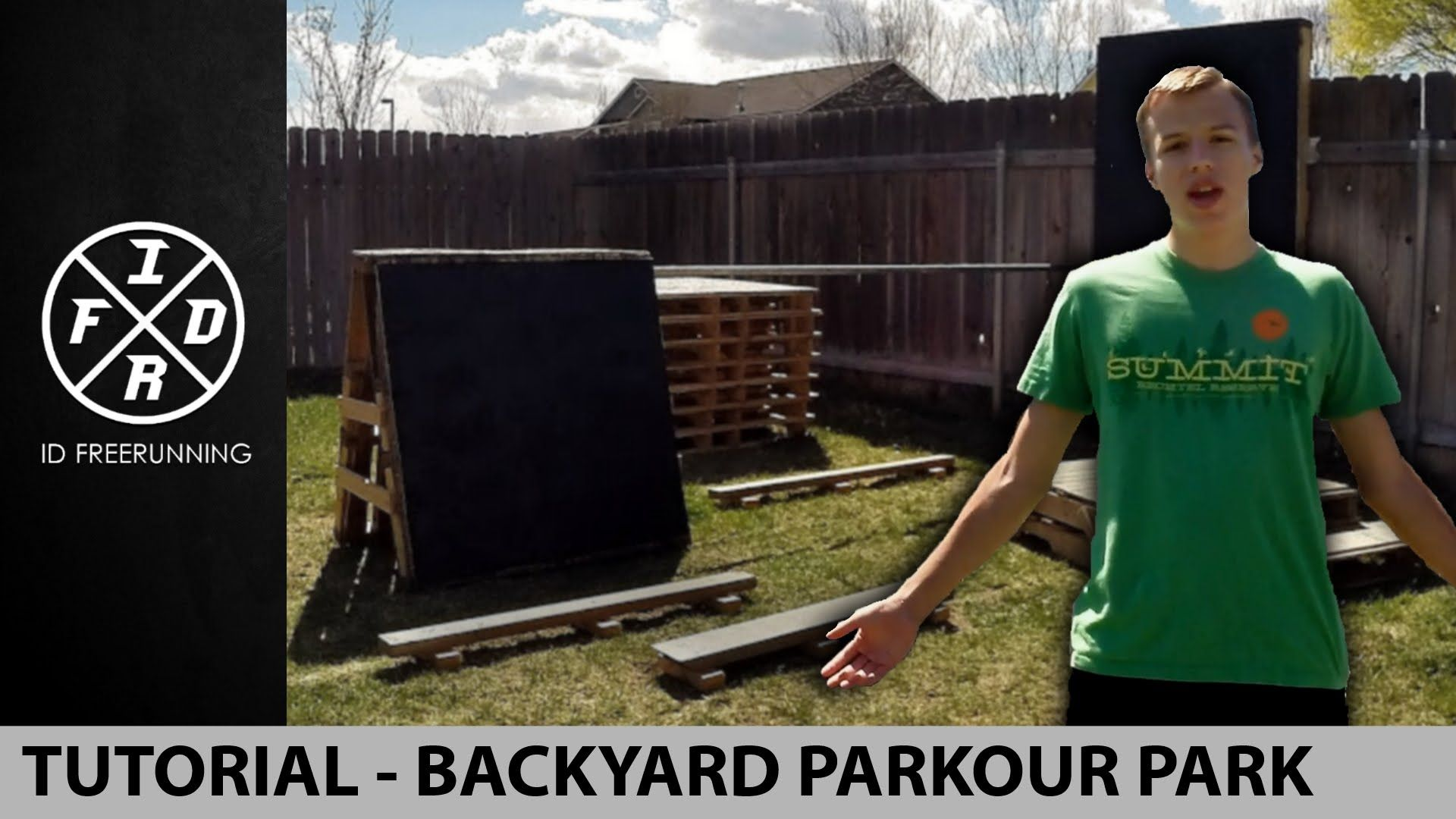 how to build a backyard parkour park tutorial backyard ninja