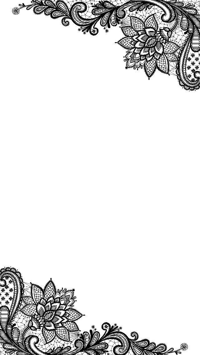 Crochet border | redes sociales | Wallpaper, Phone backgrounds e Invitation background