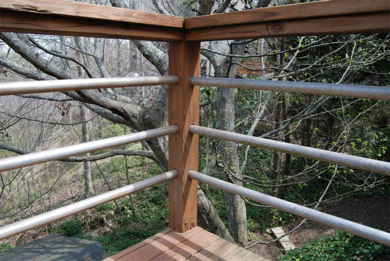 DIY Tension Cable Railing | Decking, Porch and Cable