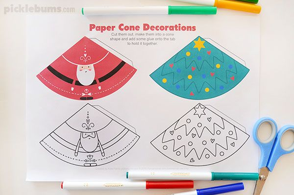 Adaptable image throughout free printable christmas decorations
