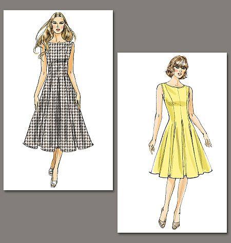 love this pattern! Misses\'/Misses\' Petite Dress | moldes de ropa ...