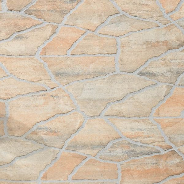 Spaanse Tegels Tuin.Oppervlakken Tosca Pentagonale Tegels Poetsch Bestrating