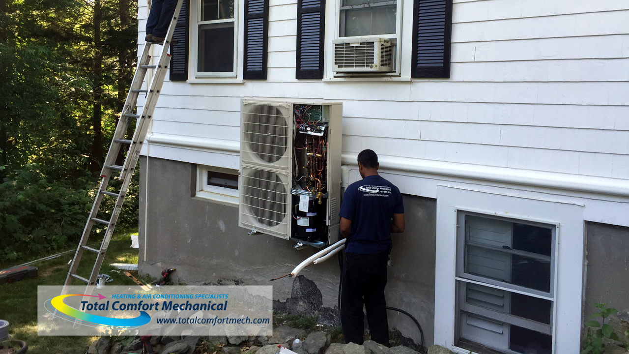 Burlington Ma Mitsubishi Ductless Mini Split Installation Air