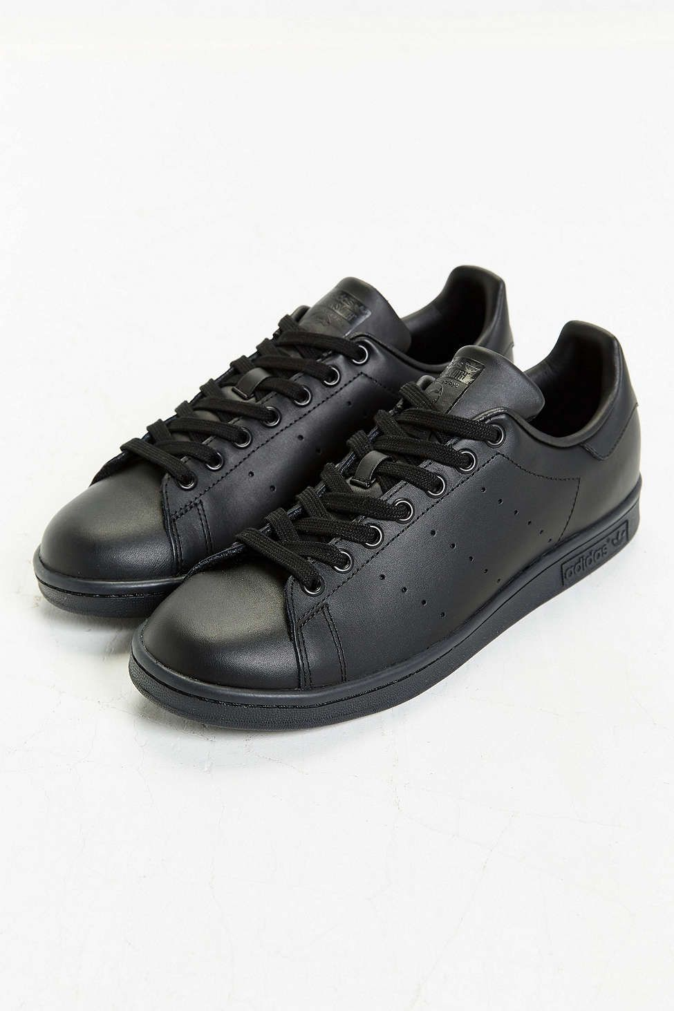 newest c2d83 99365 adidas Originals Classic Stan Smith - Tags  sneakers, low-tops, all black,  leather