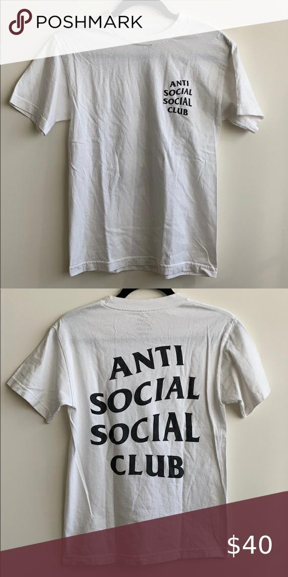 Authentic Anti Social Social Club Tee Anti Social Social Club Anti Social Social Club