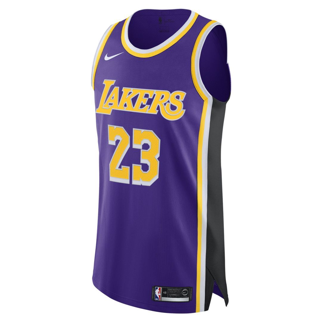 brand new 1c1c1 9dfd2 LeBron James Statement Edition Authentic (Los Angeles Lakers ...