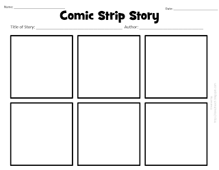 I love 2 teach literacy centers free printable comic for Comic strip template maker