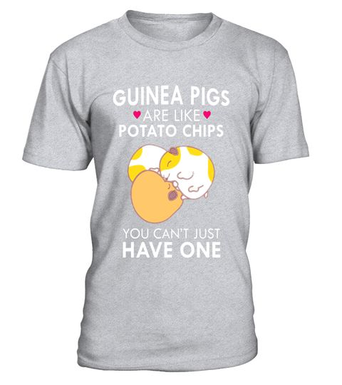 289161225d Guinea Pigs Are Like Potato Chips T-Shirts Funny Quote Cute - Limited  Edition . Special Offer, not available in shops Comes in a variety of  styles and ...
