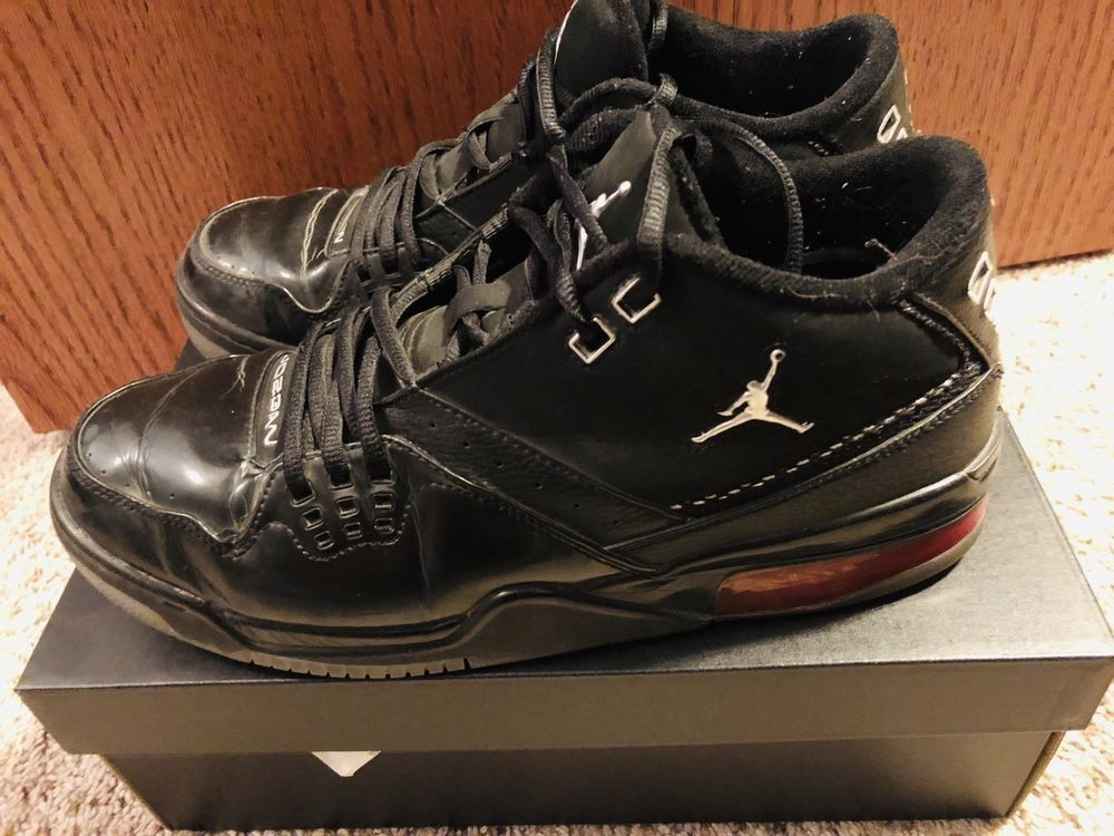 cf2592407ba8 Air Jordan Flight 23 Black Varsity Red 317820-001 Sneakers Mens Size 11   fashion  clothing  shoes  accessories  mensshoes  athleticshoes (ebay link)