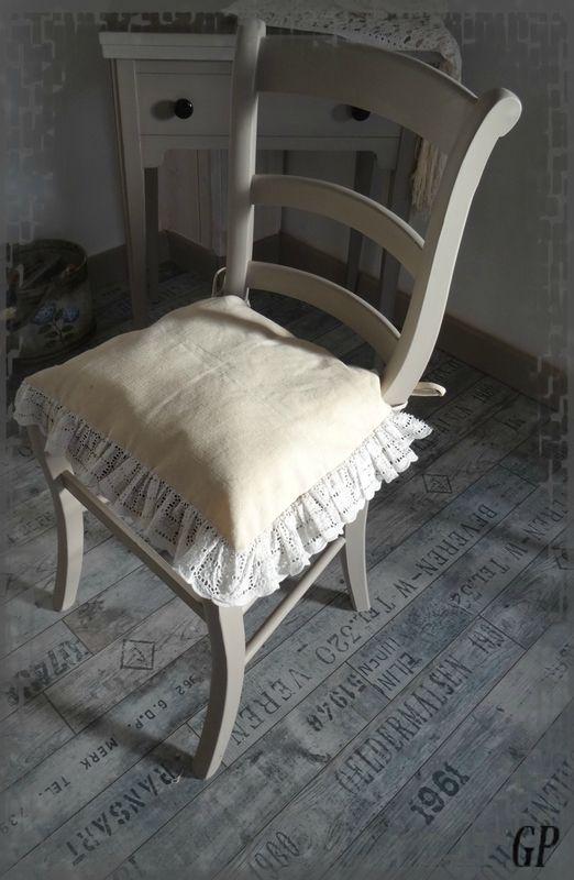 Transformation d 39 une chaise en paille relooking de - Relooker une chaise en paille ...