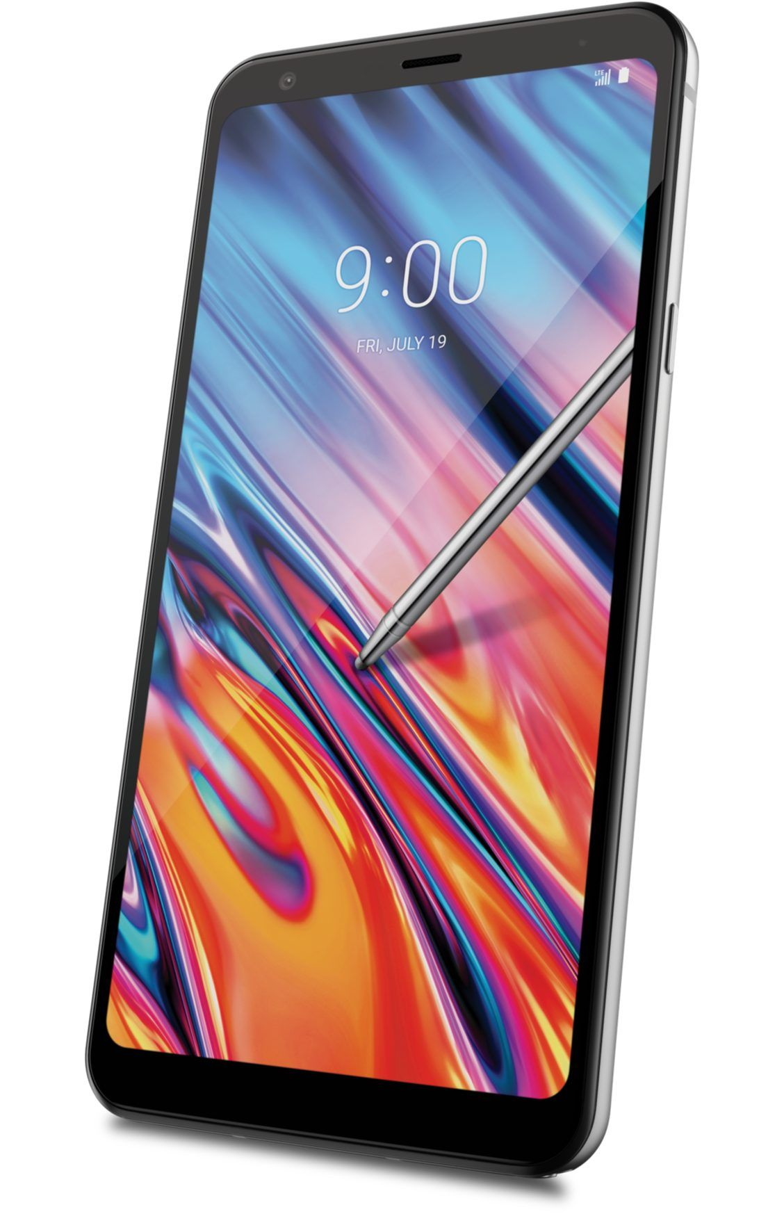 Stylo 5x, 32GB, Silvery White in 2020 Boost mobile