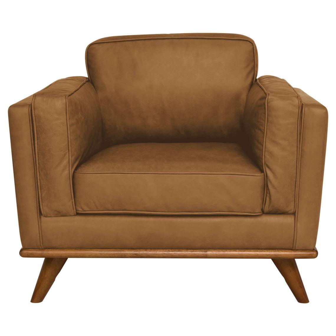 Dahlia Leather Armchair Armchair Leather Lounge
