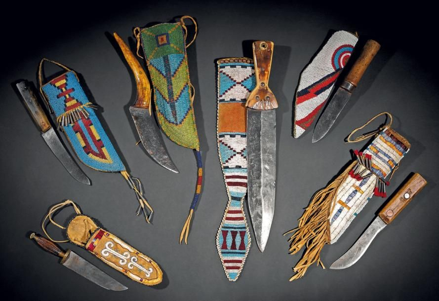 Knife sheaths of various nations