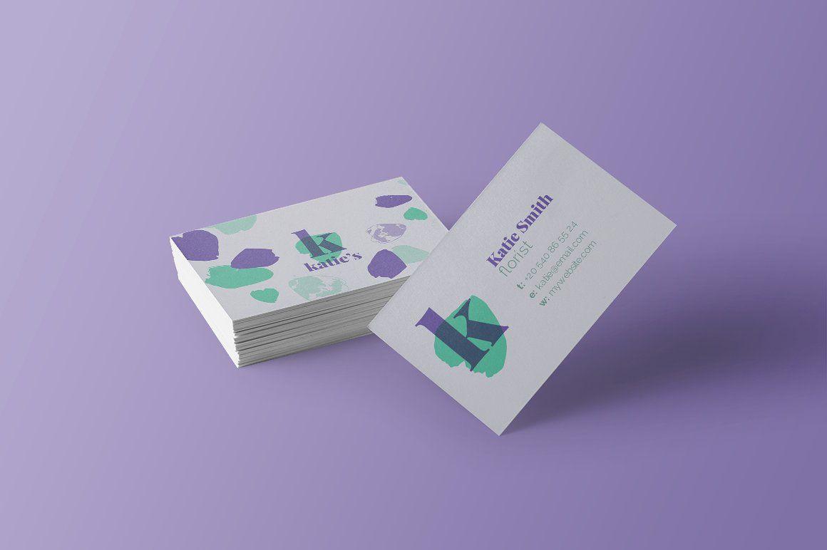 6+ Florist Business Card Templates | Card templates, Business cards ...