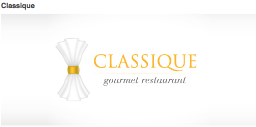 Classique logo very nice logo looks professional and