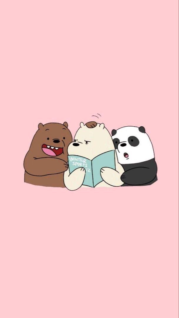 Cute Hd Phone Wallpaper Bear Wallpaper Bare Bears We Bare Bears Wallpapers