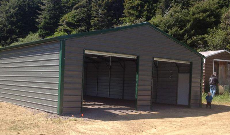 Garages | American Steel Carport Sales