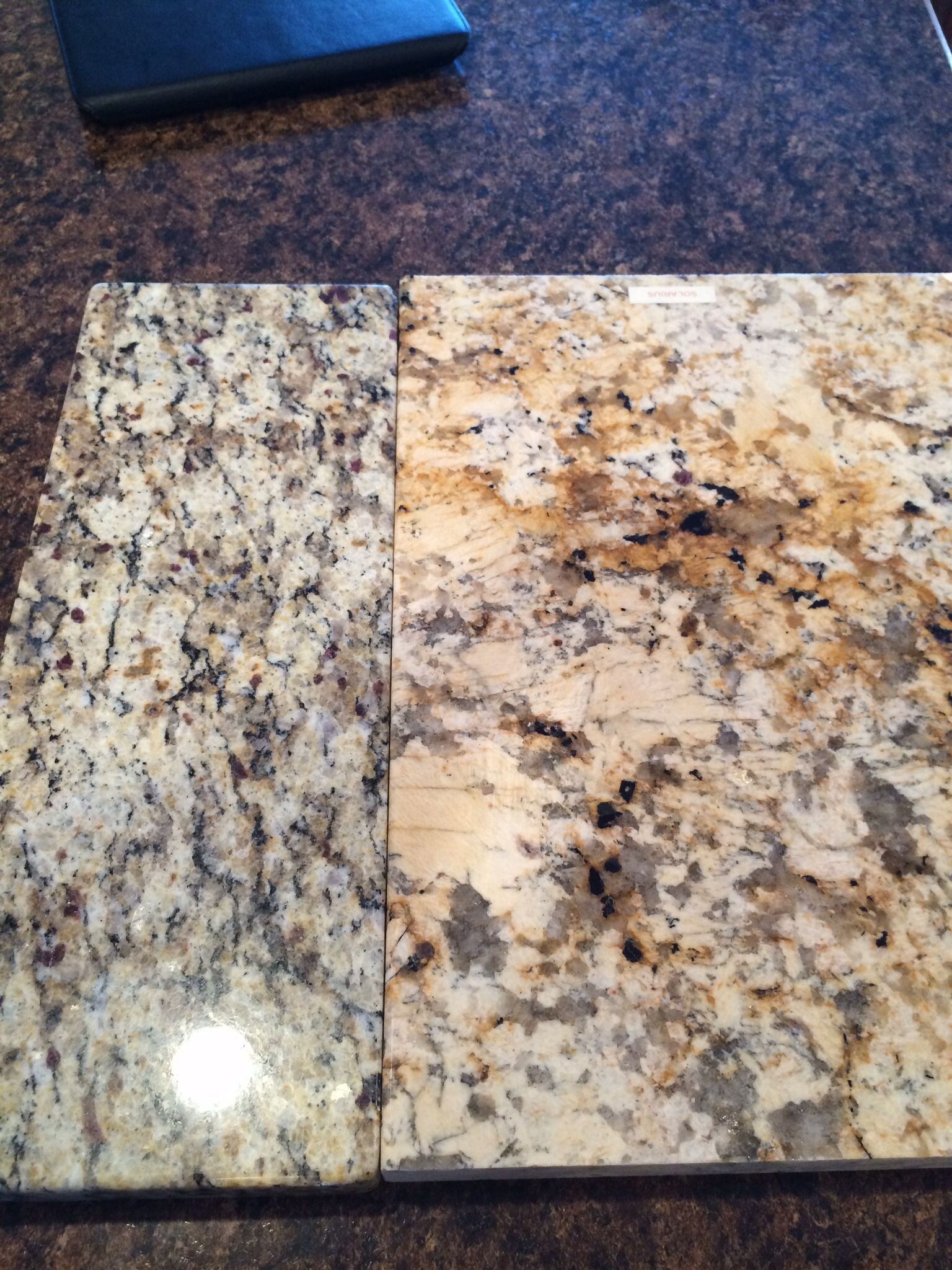 Santa Cecilia vs Solarius granite | Kitchen Ideas | Pinterest ...