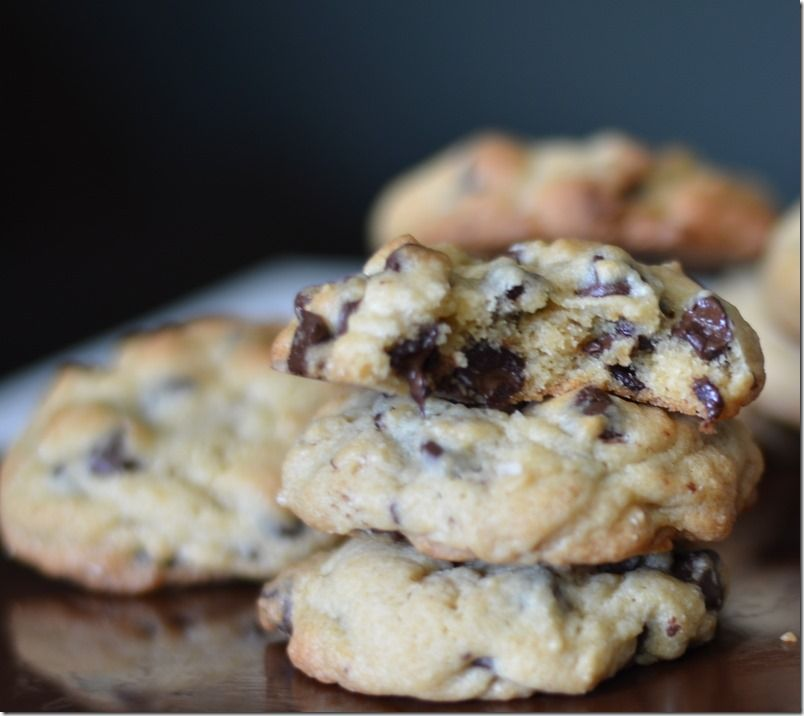Our favorite Chocolate Chip Cookie  -all ingredients are present