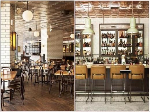 Loewy Jakarta Indonesia Retro Interior Design Retro Interior French Bistro Decor