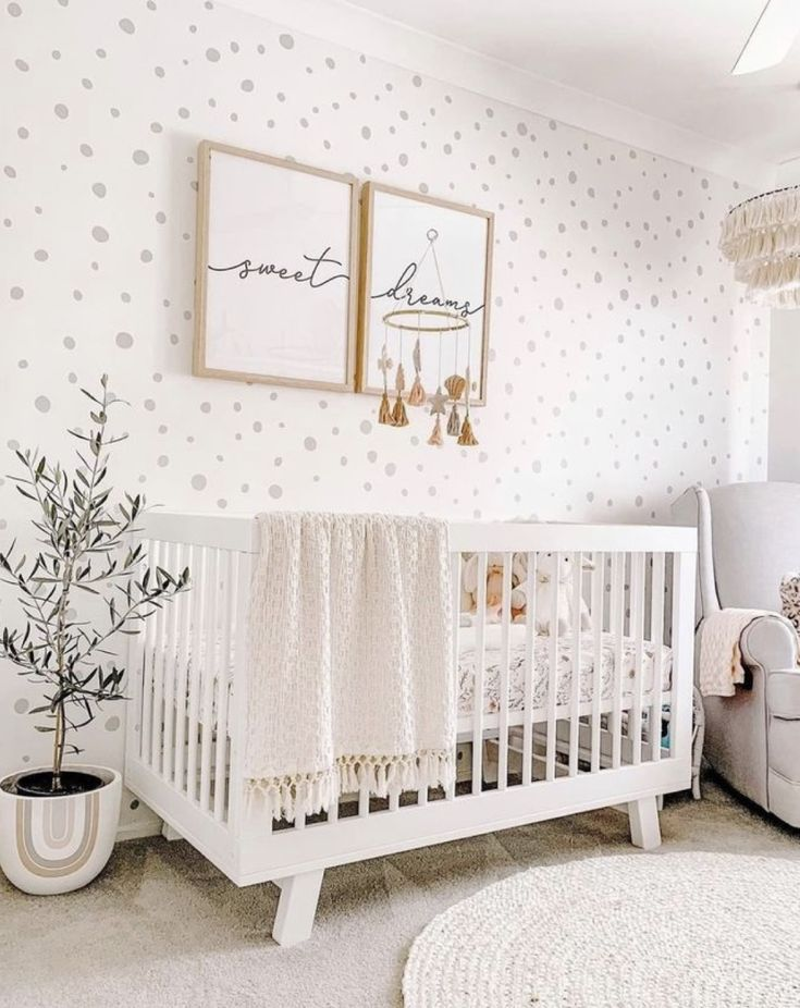 Trendy Nursery Wallpaper Ideas