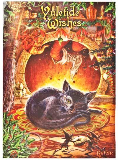 Pagan yule greeting beautiful yule card with artwork by briar a pagan yule greeting beautiful yule card with artwork by briar a lovely yule scene m4hsunfo