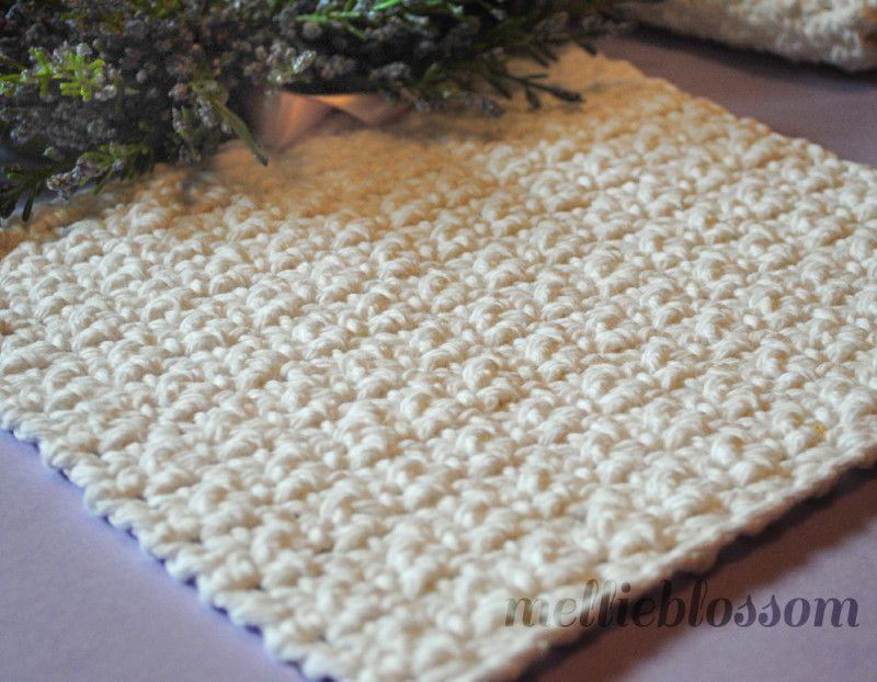 Free Easy Crochet Dishcloth Pattern | Crochet Kitchen/Bath ...
