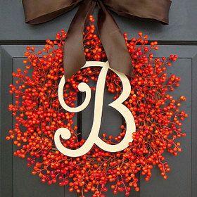 Wreaths FALL Wreaths HYDRANGEA Wreaths BERRY by ElegantWreath