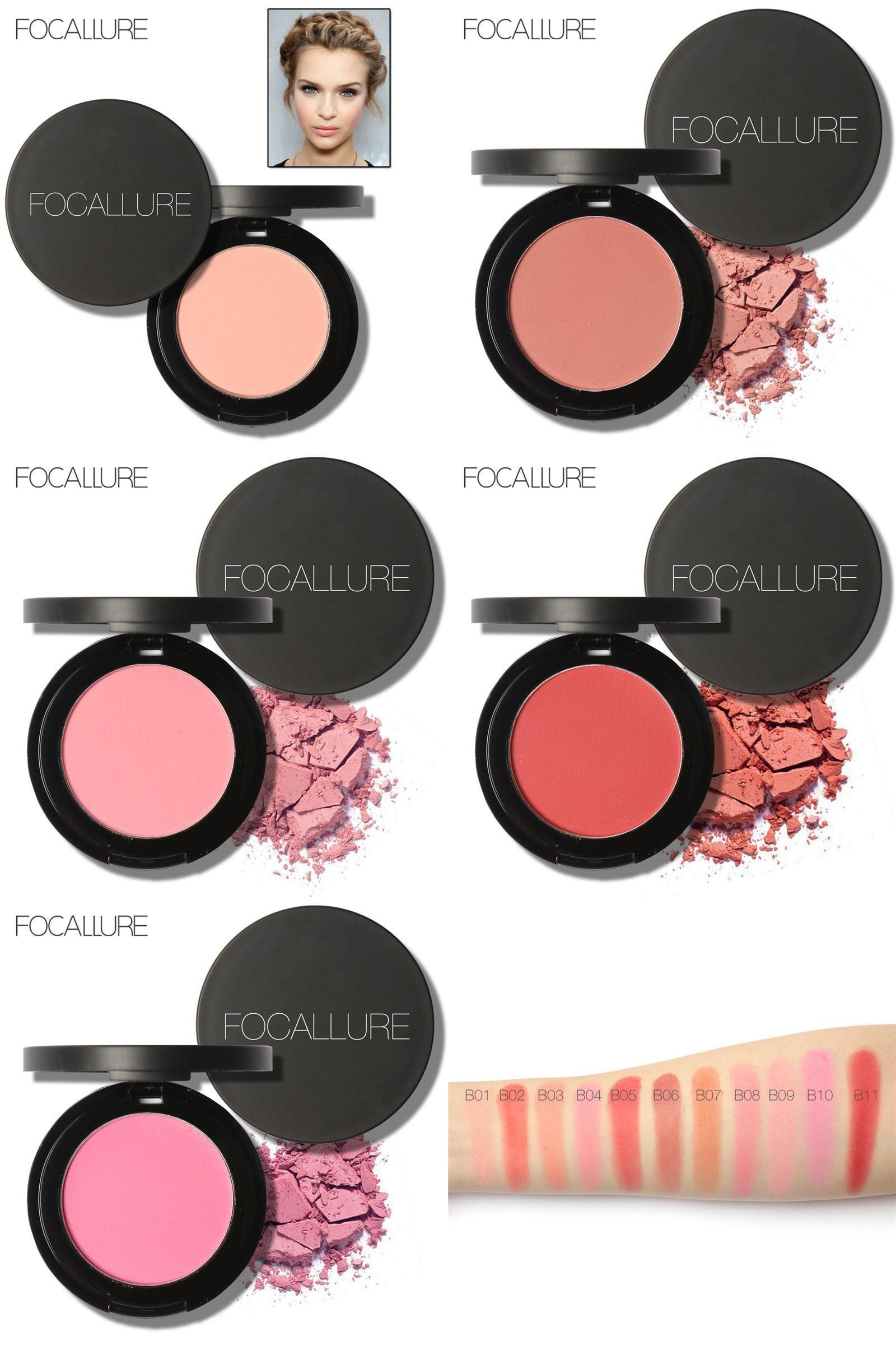 [Visit To Buy] Focallure Makeup Blush Palette Contour