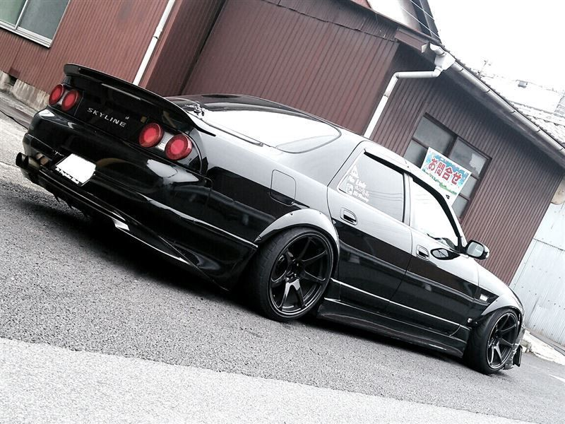 """radracerblog"""" Nissan Skyline R33 Sedan"""" (With images"""