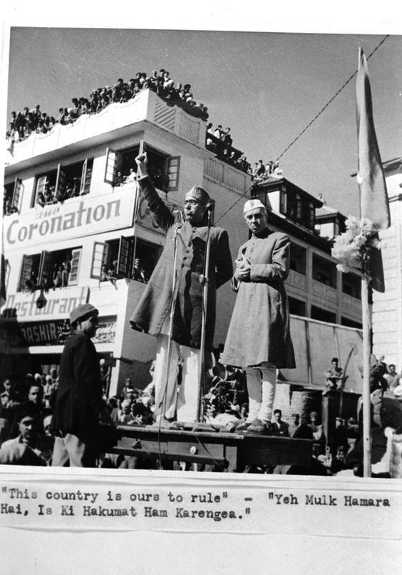 Image result for sheikh abdullah nehru memes