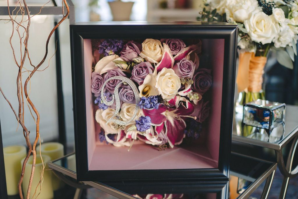 Dried Wedding Flower Shadowboxes This Freeze Dried Wedding