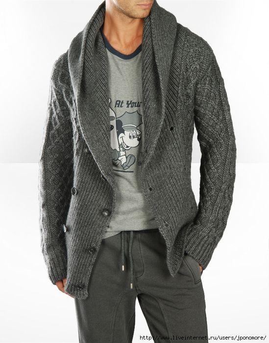 Вдохновительное от кутюр - вязаные жакеты, куртки для ...