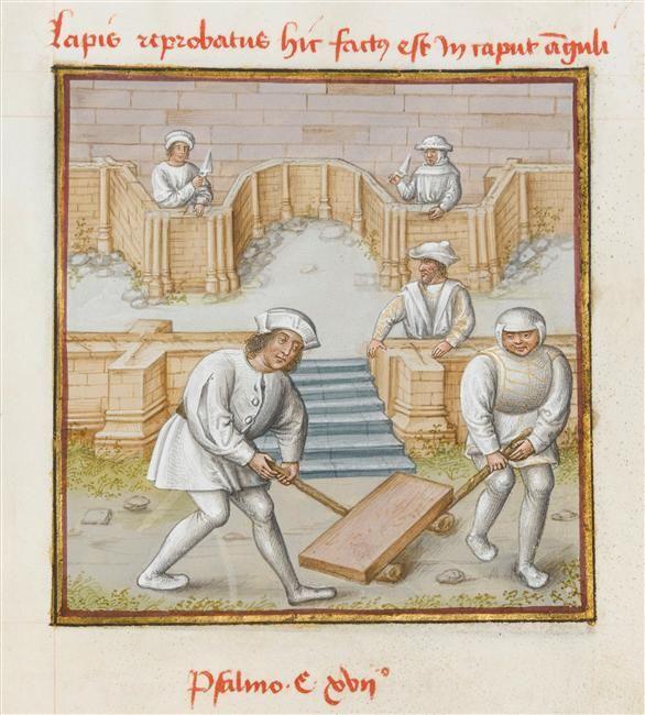 Le Miroir de l'humaine salvation, Ecole française, 15e siècle