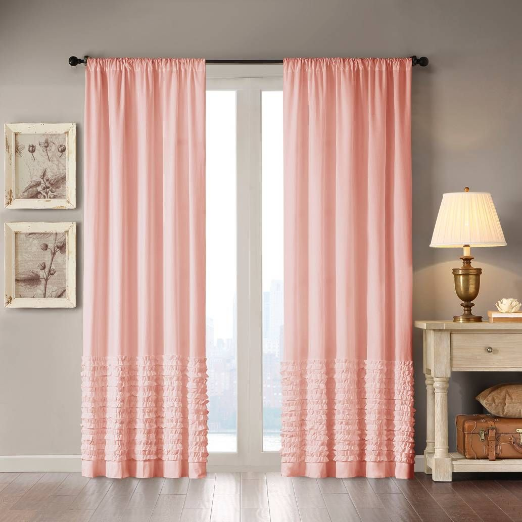 Nursery window ideas  product image for madison park bessie rod pocket window curtain