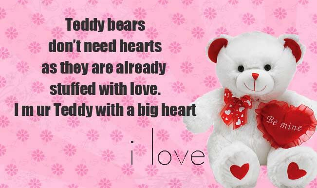 Teddy Bear Day Wishes, Messages, SMS, Quotes, Images