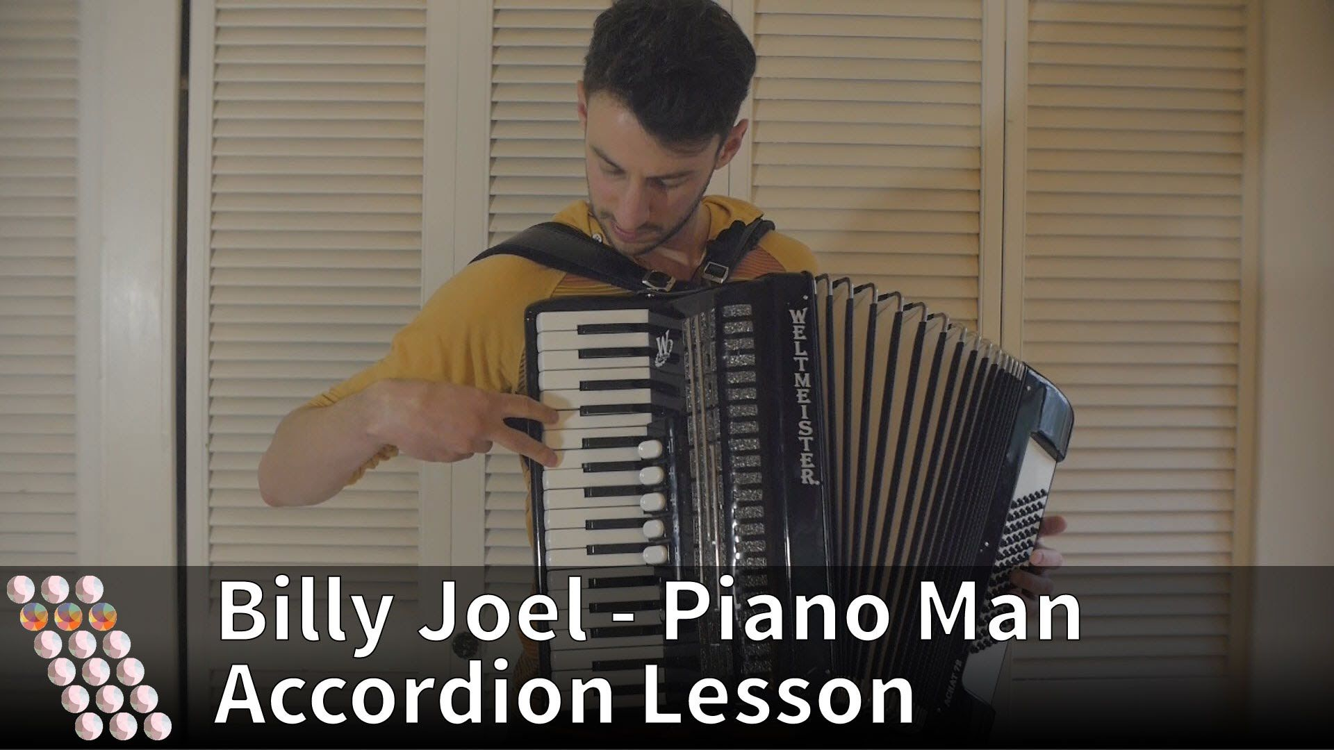 Billy Joel Piano Man Billy Joel Piano Man Accordion Lesson Sheet Music