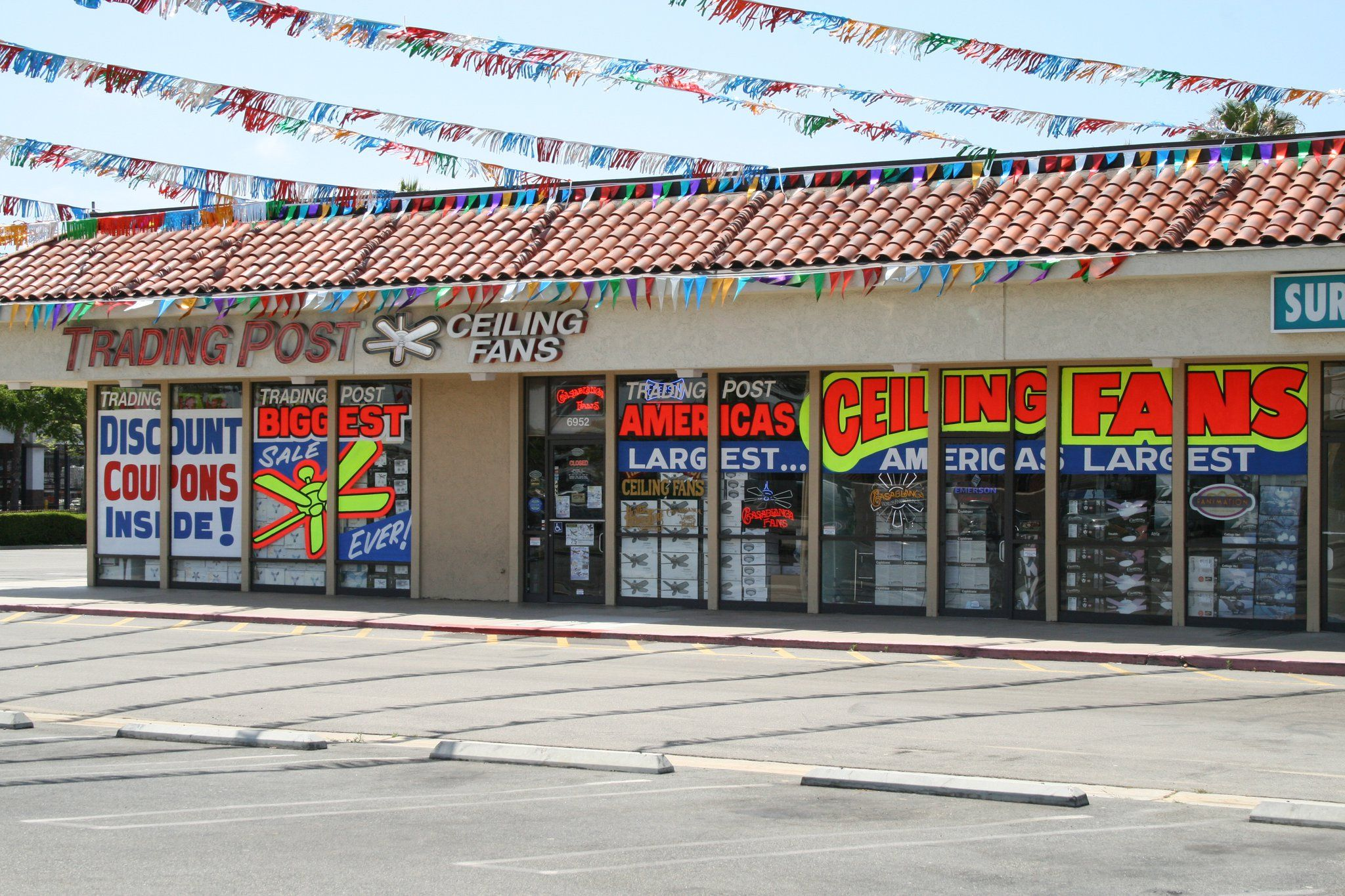 Trading Post Fan Company Lighting store in Huntington
