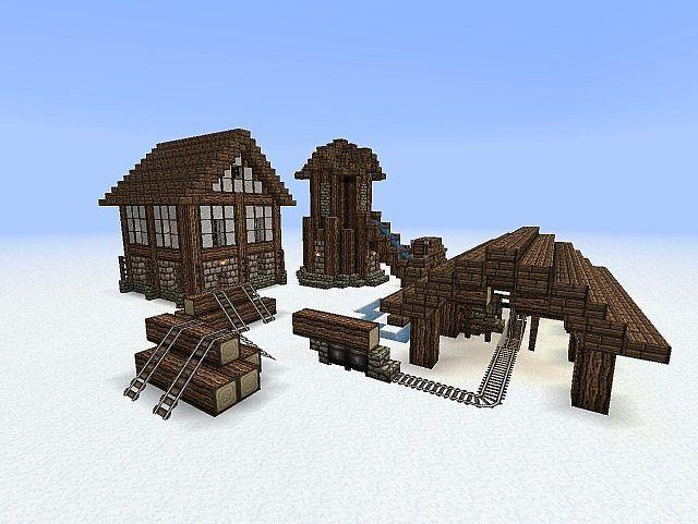 Minecraft Medieval Buildings Viridions Medieval Building