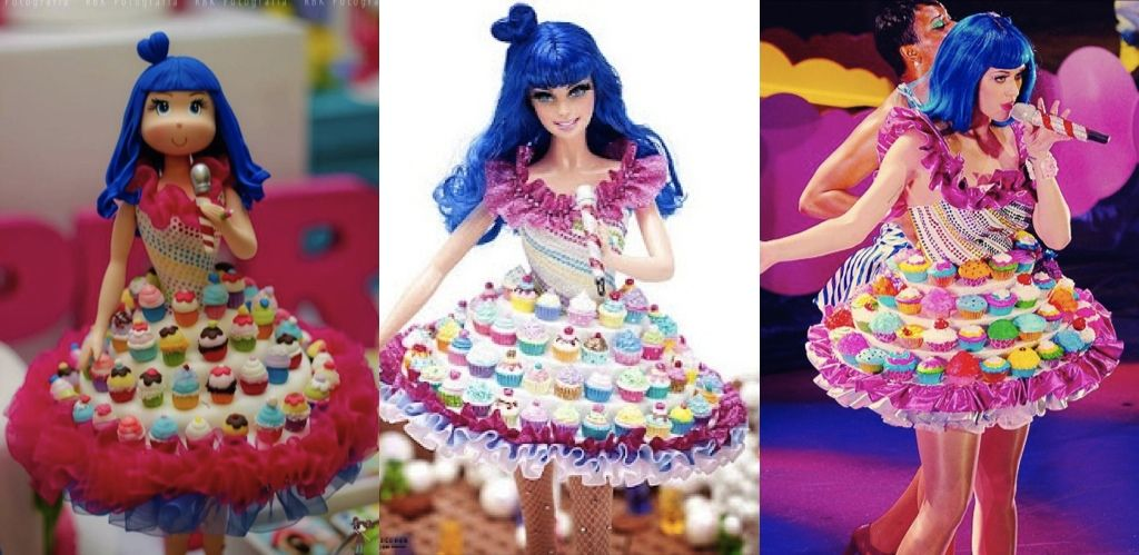 Incredible Katy Perry Cake Dress Katy Perry Birthday Dress Cake Kids Cake Personalised Birthday Cards Veneteletsinfo