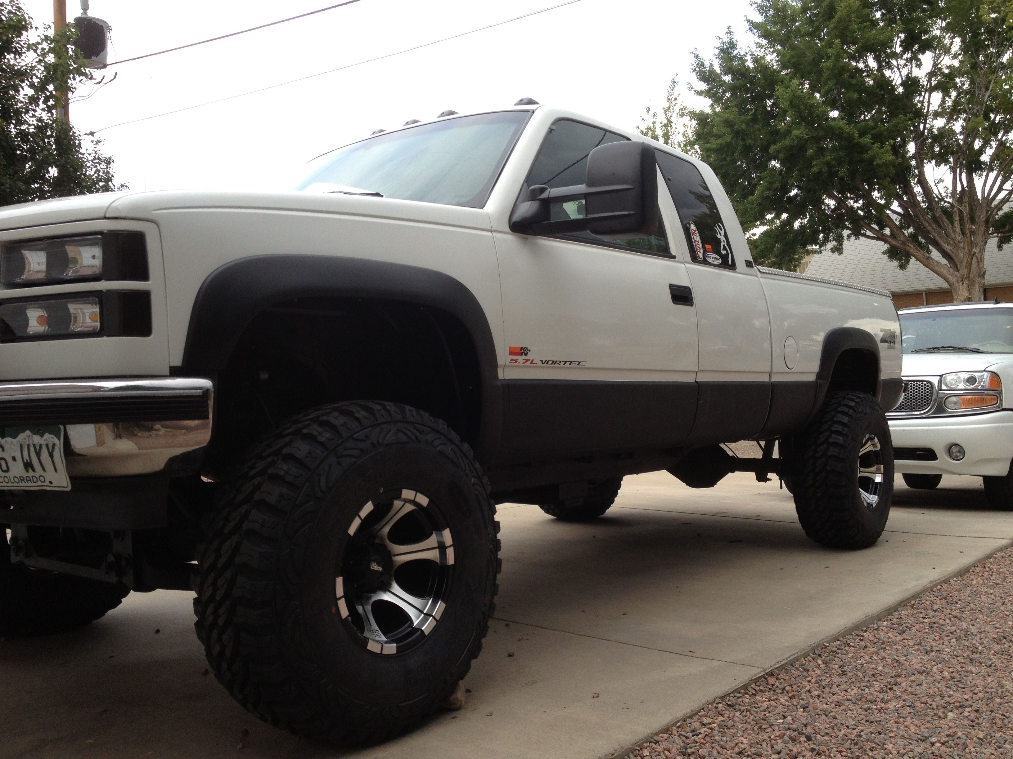 hight resolution of 96 gmc k1500 6 pro comp lift 35 pro comp mt2 15 by10 dick cepek dc2