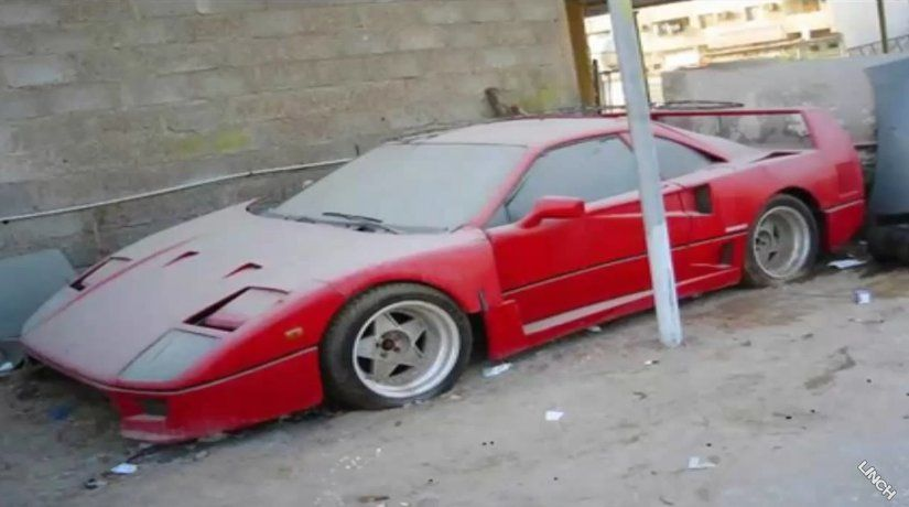 Dubai abandoned super cars Ferrari, Lamborghini, Mustang and more