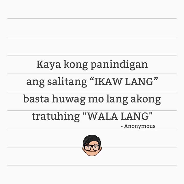 Paasa Effect Tagalog Quotes Hugot Lines Tagalog Love Pinoy Quotes