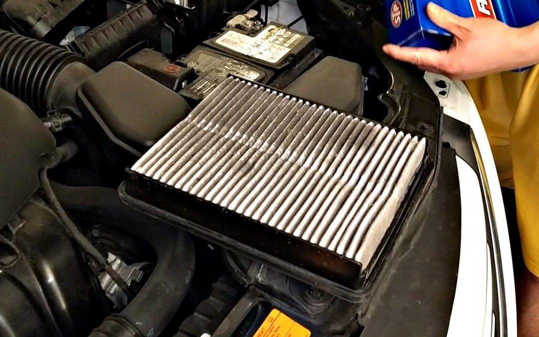Replace Engine Filter Car maintenance, Auto repair, Oil